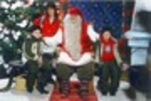 There are flights from East Midlands Airport to see Santa in...