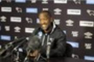 chris powell video: 'i'm sure derby county players can face...
