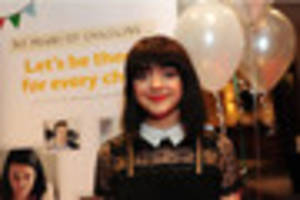 game of thrones star maisie williams in bristol for charity party