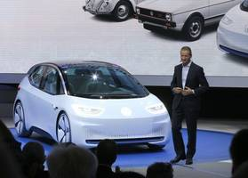 Meet the I.D., Volkswagen's first purely electric car on track for 2020