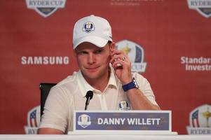 masters champion danny willett left out of ryder cup opening pairs