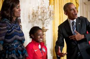 President Obama honors U.S. Olympians present and past at White House