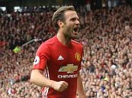 Juan Mata never considered leaving Manchester United and insists relationship with Jose Mourinho has always been strong
