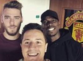 manchester united stars in 'another day at the office' as jose mourinho's men prepare for stoke test