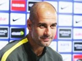 pep guardiola demanding high standards from his manchester city players as he targets improvements ahead of tottenham clash