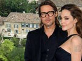 angelina jolie and brad pitt 'in private divorce negotiations' with $60m estate not for sale