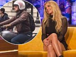 Britney Spears dismisses dating as 'silly' on The Jonathan Ross Show