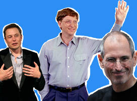 Here's where Elon Musk, Bill Gates, and Steve Jobs started as interns