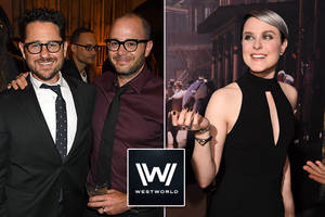inside hbo's 'westworld' trippy premiere party (photos)