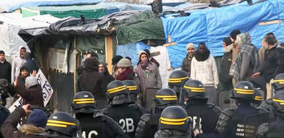 inside france's the jungle migrant camp