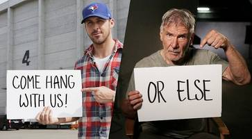 want to meet ryan gosling and harrison ford on 'blade runner 2' set? here's how to win the trip
