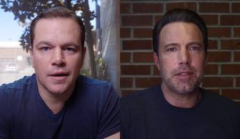 Watch Ben Affleck and Matt Damon Hilariously Argue Over Who's Closer to Tom Brady