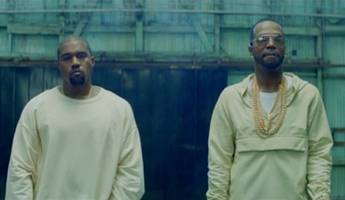 Watch Juicy J and Kanye West in 'Ballin' Video