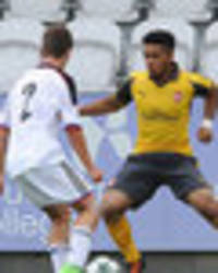 Arsenal wonderkid Trae Coyle sends defender flying with Messi-like skill