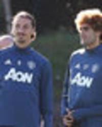 Snapped: Mourinho puts Pogba, Ibrahimovic, Rooney and co through their paces