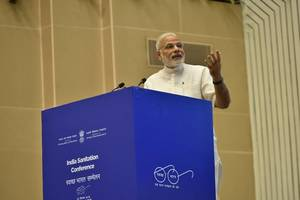 behavioural change needed to realise dream of swachh bharat: pm