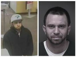 man sought in toms river bank robbery captured in friend's bathroom: police
