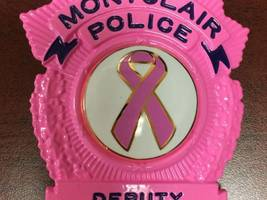 montclair police go pink for breast cancer awareness month