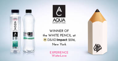 aqua carpatica water purity campaign wins its category at d&ad impact