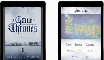 Apple is now selling interactive Game of Thrones iBooks