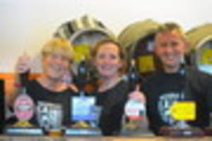 beverley real ale and cider festival going down well with thirsty...
