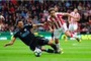 man united v stoke city: mark hughes keeping fingers crossed for...