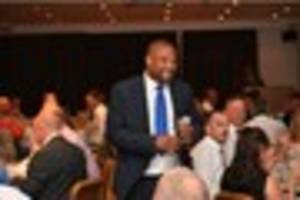 ex-england striker john barnes makes guest appearance at charity...