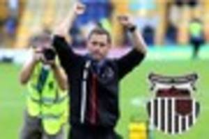 grimsby town v hartlepool build up: hurst wants to embrace...