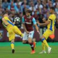 Midfielder Havard Nordtveit ruled out of West Ham's game with Middlesbrough