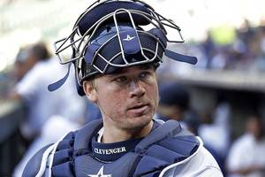 Mariners Suspend Steve Clevenger Without Pay for Rest of Season