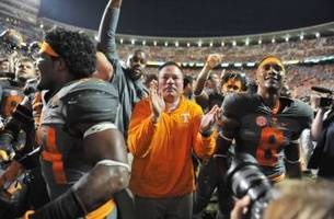 tennessee football: last year's georgia game turned the corner for vols program