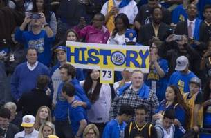 Warriors should chase 16-0, not 74