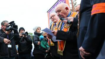 Orange Order calls for the reform of parades legislation
