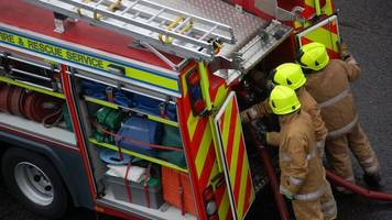 man, 42, dies after fire at block of flats in east wemyss
