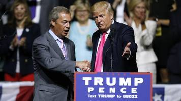 'mr. brexit': donald trump is bringing in nigel farage for debate prep