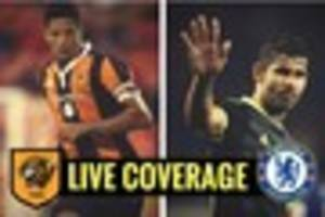 hull city v chelsea live with build-up, match updates, analysis...