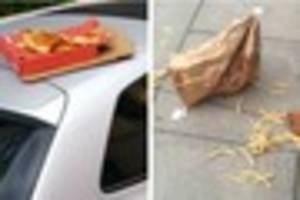 ​Warning: If you find stories about discarded takeaways inane and...
