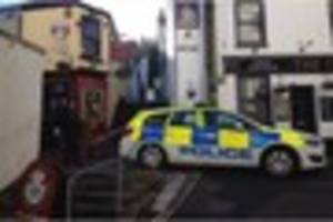 UPDATE: rape investigation as police close off Torquay harbour...