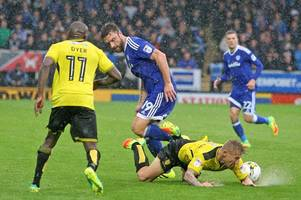 cardiff city v burton albion player ratings: the best and the worst as cardiff slip deeper into trouble with 2-0 defeat