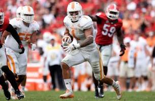 Tennessee RB Jalen Hurd's strut into the end zone went horribly wrong