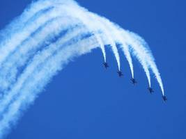 fleet week kicks off in bay area: don't miss main event - the blue angels!