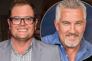 alan carr says he'll never present the great british bake off with paul hollywood