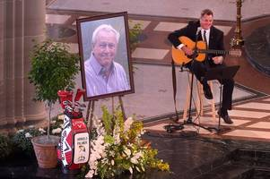 jack nicklaus pays tribute to 'the king' at memorial service for golf legend arnold palmer