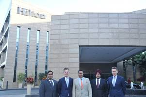 embassy group strengthens partnership with hilton signs management agreement for one of the largest dual-branded hotels in india