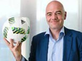 gianni infantino's arrival as fifa secretary saw him succeed the disgraced sepp blatter... but now we are starting to wonder what exactly the new man has achieved