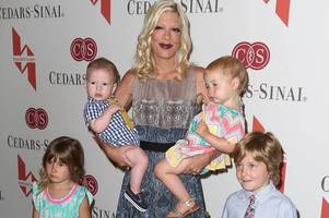 tori spelling, 43, thrilled as she announces surprise fifth pregnancy