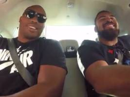 two pittsburgh steelers players just got a ride in a self-driving uber