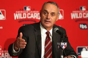 mlb commissioner manfred on robot umps: 'i don't believe we are there yet'