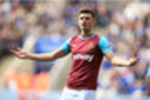 west ham star hoping to return from injury against crystal palace