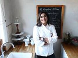 my light bulb moment: private chef saima khan explains how she went from banking to cooking - with the help of warren buffett and bill gates